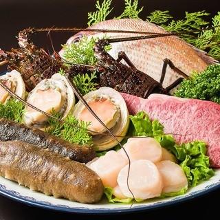 海鮮・肉・野菜、全てに拘る