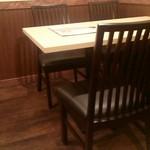 灯火 - テーブル席