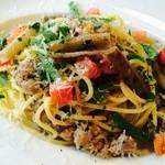 イタリカ - ペコリーノチーズのスパゲッティー