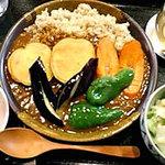 祥園 - 野菜カレー♪