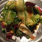 ダルジャン ノア - 新鮮お野菜のサラダはドレッシングもgood!