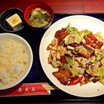 南天玉 - 回鍋肉定食