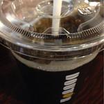 ドトールコーヒーショップ - Mサイズ。ひと口グッといきました♫