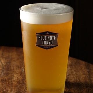ブルーノート東京オリジナルビール販売中!