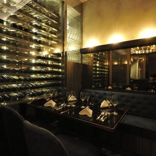 100種類以上のワインリスト