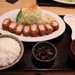 ワタライ食堂 - 料理写真:バラカツ大☆