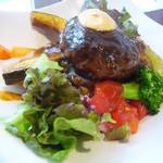 32116127 - 野菜和牛ハンバーグ丼