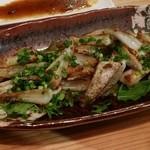 和風創作ダイニング 明匠 - 鶏軟骨の黒酢炒め揚げ