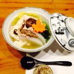 分田上 - 自家製ざる豆腐の変わり湯豆腐