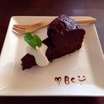 バイゲツカフェ - しっとりチョコケーキ
