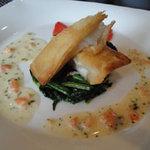 ホテル石垣島 - 近海でとれたハタ科のお魚を優しい&美味しいソースでいただきました。