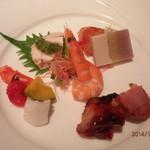 中国料理 皇家龍鳳 - 前菜5種。
