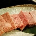 和牛専門店いな蔵のカルビ - シャトーブリアン!