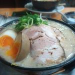 32121767 - 太もやしラーメン 830円 +煮卵100円