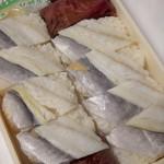 東華軒 - 小鯵押寿司