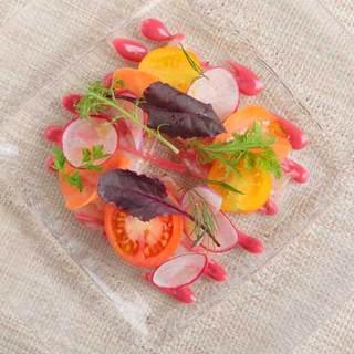 信州野菜を中心とした料理の数々