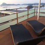 天草 天空の船 - 客室のバルコニー