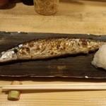 孝 - 新サンマの塩焼き