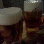 なぎ - 2014.10.28再訪 またビールで乾杯
