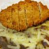 樹はら - 料理写真:ロースカツカレーのチーズトッピング