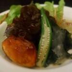 32136759 - イタレリサラダは、彩り鮮やかでいろんな食感を楽しめました