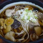 イイダヤ軒 - 料理写真:きのこそば~☆
