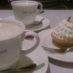 カフェ ルビアン - レモンタルト300円くらい。ロイヤルミルクティ500円くらい。安くて美味しい◎