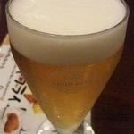 とろろや 名古屋ラシック店 - ランチビール