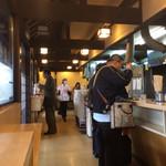 広島駅弁当 うどん - いわゆるスタンディング イート スタイルです!
