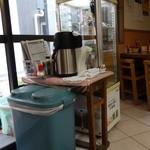 食堂 旭屋 - セルフサービスの飲み物