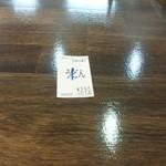 そば太郎 - 食券