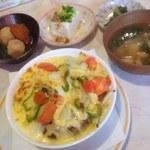 花野菜 - 焼きチーズカレー