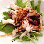 CHINA BISTRO imose - 麻婆豆腐ランチ:蒸し鶏のサラダ