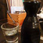 もんじゃ お好み焼き 鉄板焼き ねこ - 日本酒~冷酒(500円+税)2014.11