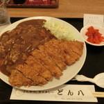どん八 - 2014' 10/23 カツカレーS720円