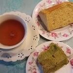 ハミングバード ガーデンマルシェ - 料理写真:シフォンケーキでティータイム