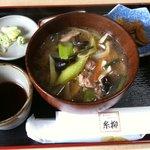 糸柳 - 料理写真:鴨せいろ