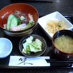 レストラン海斗 - 本マグロづけ丼(600円)