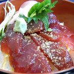 レストラン海斗 - 本マグロづけ丼のアップ