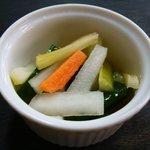 そら庵 - 野菜ピクルス