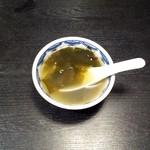 中国料理 ちゅん - スープ