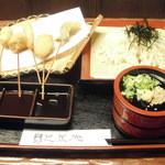 串屋芭蕉庵 - 稲庭うどん定食680円