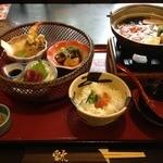 レストラン雲水 - 冬Walker御膳(1390円)