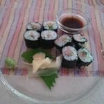 ラ・チチ - 葱と鮪の巻物 (コースCHICHI)