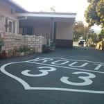 ラ・チチ - レストラン棟 奥駐車場