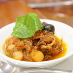 ピッツェリア ダ・アオキ タッポスト - 和牛ハチノスのトマト煮