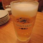 池田丸 - 生ビール530円