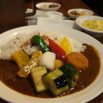 印度風カリーライス 吉葉 - 野菜カレー