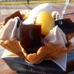 泉州やさいのビュッフェ&カフェ - テイクアウト マロンパフェ