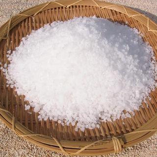 【こだわり②】塩は主役を引き立てる最高の裏方さん!